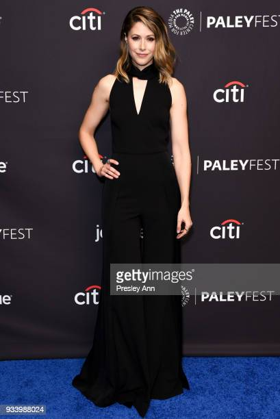 Amanda Crew attends PaleyFest Los Angeles 2018 'Silicon Valley' at Dolby Theatre on March 18 2018 in Hollywood California