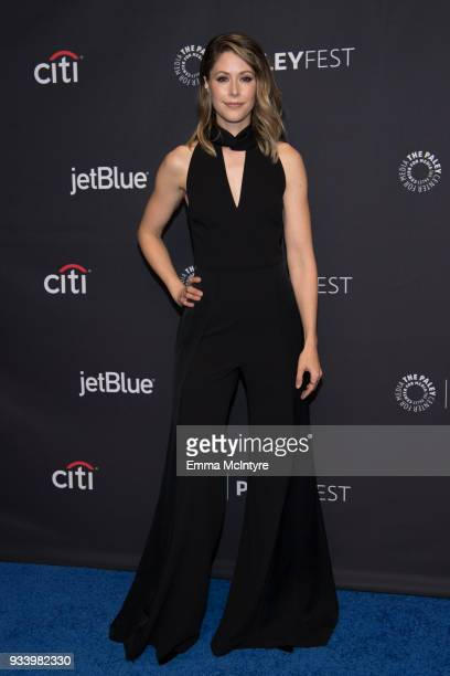Amanda Crew attends the 2018 PaleyFest Los Angeles HBO's 'Silicon Valley' at Dolby Theatre on March 18 2018 in Hollywood California