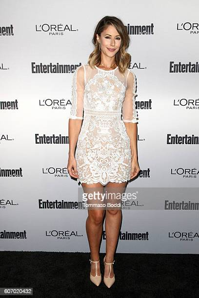 Amanda Crew attends the Entertainment Weekly's 2016 PreEmmy Party held at Nightingale Plaza on September 16 2016 in Los Angeles California