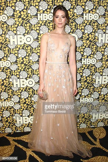 Amanda Crew attends the HBO's Post 2016 Golden Globe Awards Party held at Circa 55 Restaurant on January 10 2016 in Los Angeles California