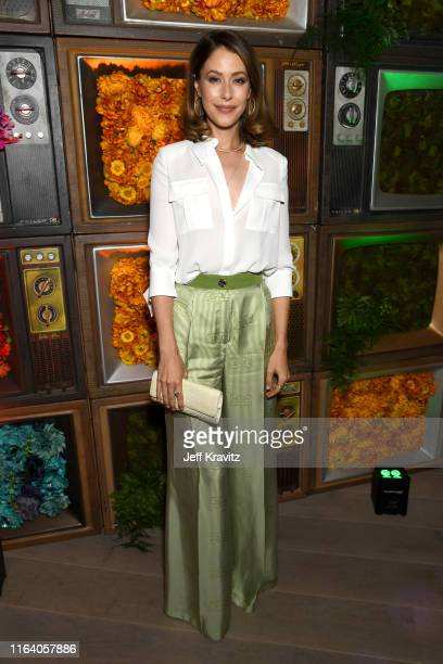 Amanda Crew attends the Warner Media Entertainment TCA Party on July 24, 2019 in Beverly Hills, California.