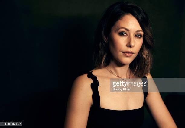Amanda Crew of the film 'ToneDeaf' poses for a portrait at the 2019 SXSW Film Festival Portrait Studio on March 10 2019 in Austin Texas