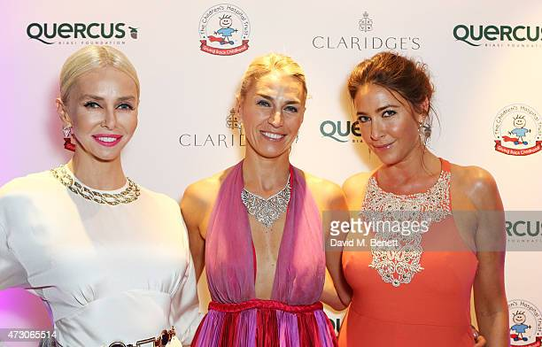 Amanda Cronin Anastasia Webster and Lisa Snowdon attend the Spring Gala In Aid of the Red Cross War Memorial Children's Hospital hosted by QBF and...