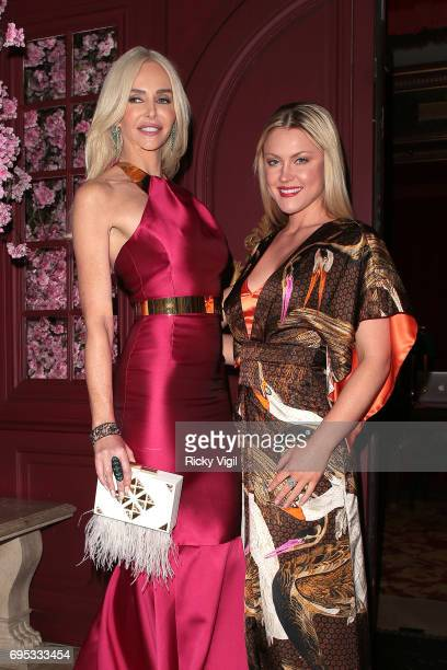 Amanda Cronin and Camilla Kerslake attend An Evening of Oriental Splendour charity gala at Park Chinois sighting on June 12 2017 in London England