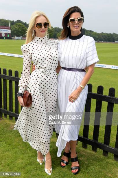 Amanda Cronin and Christina Estrada attend the OUTSOURCING Inc Royal Windsor Cup Final on June 23 2019 in Windsor England