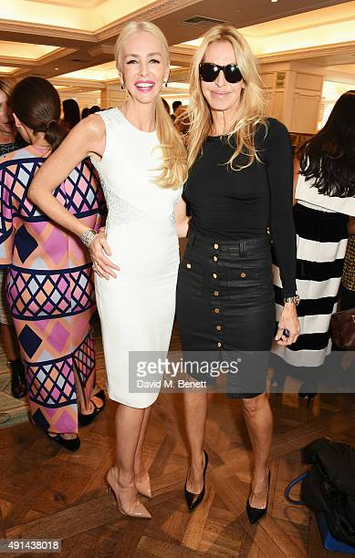 Amanda Cronin and Melissa Odabash attend the annual ladies' lunch in support of the Silent No More Gynaecological Cancer Fund and The Royal Marsden...