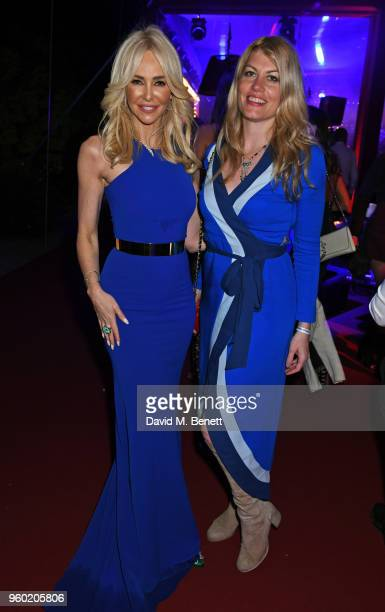 Amanda Cronin and Meredith Ostrom attend the de Grisogono party during the 71st annual Cannes Film Festival at Villa des Oliviers on May 15 2018 in...
