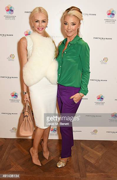 Amanda Cronin and Tamara Beckwith attend the annual ladies' lunch in support of the Silent No More Gynaecological Cancer Fund and The Royal Marsden...