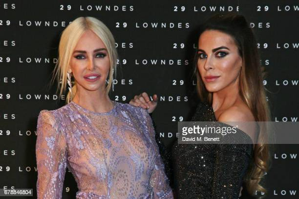 Amanda Cronin and Victoria BakerHarber attend the 29 Lowndes store launch on May 4 2017 in London England