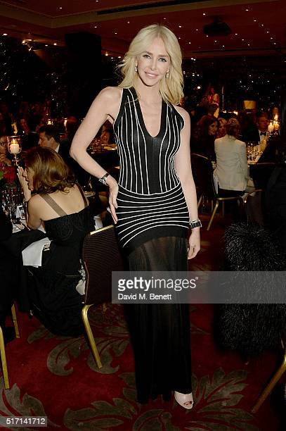 Amanda Cronin attends a Gala Dinner following the special Charity Premiere of Despite The Falling Snow in aid of the Nelson Mandela Children's Fund...