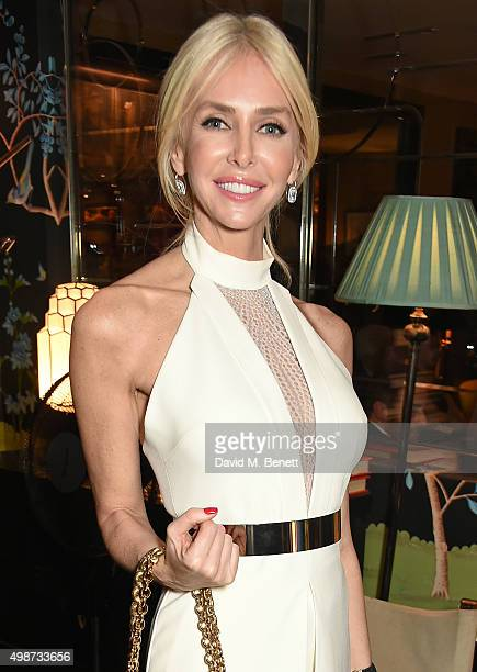 Amanda Cronin attends an after party following the screening of La Legende de La Palme d'Or at China Tang on November 25, 2015 in London, England.