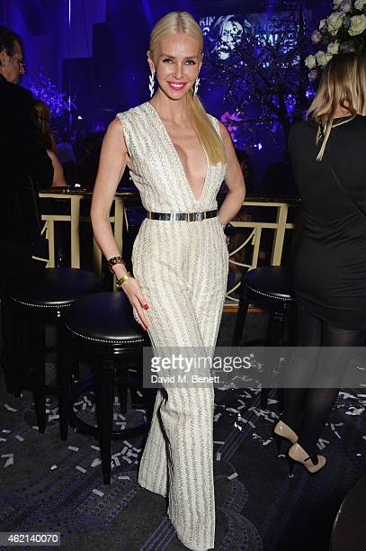 Amanda Cronin attends Lisa Tchenguiz's 50th birthday party at the Troxy on January 24 2015 in London England