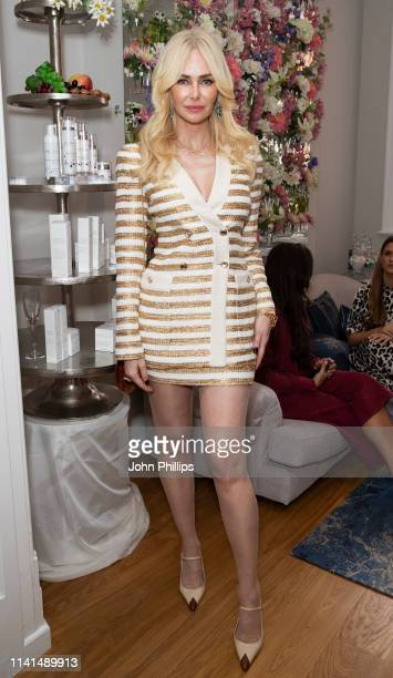 Amanda Cronin attends Pietro Simone Skin Care Launch on April 09 2019 in London England