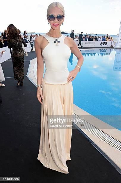 Amanda Cronin attends the Amber Lounge 2015 Charity Fashion Show in benefit of Autism Rocks at Le Meridien Beach Plaza Hotel on May 22 2015 in Monaco...