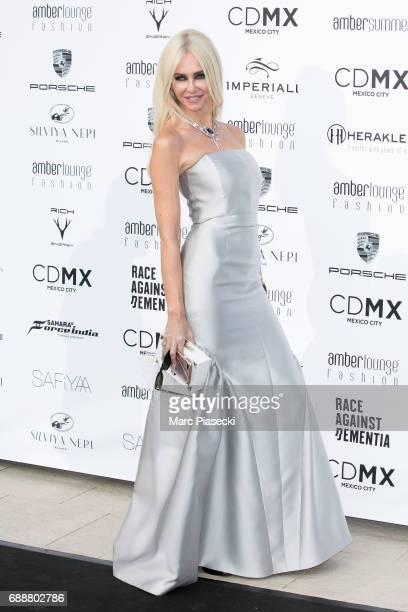 Amanda Cronin attends the Amber Lounge Fashion Monaco 2017 at Le Meridien Beach Plaza Hotelon May 26, 2017 in Monaco, Monaco.