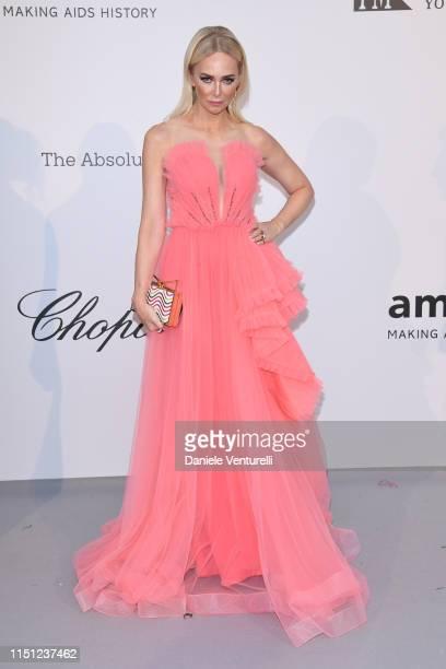 Amanda Cronin attends the amfAR Cannes Gala 2019 at Hotel du Cap-Eden-Roc on May 23, 2019 in Cap d'Antibes, France.
