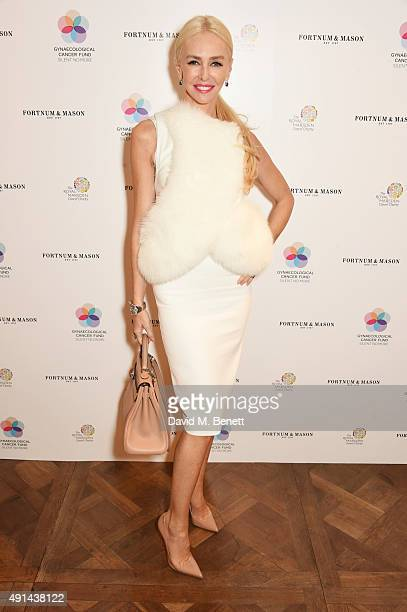 Amanda Cronin attends the annual ladies' lunch in support of the Silent No More Gynaecological Cancer Fund and The Royal Marsden Cancer Charity at...
