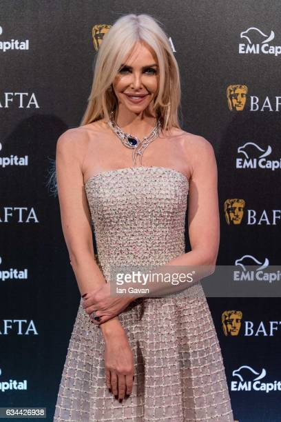 Amanda Cronin attends the BAFTA 2017 film gala dinner on February 9 2017 in London United Kingdom