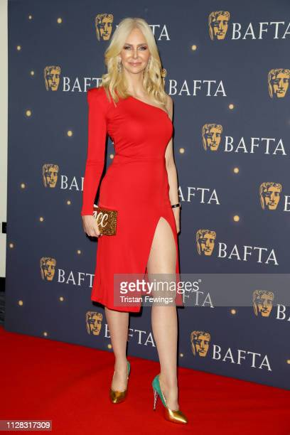 Amanda Cronin attends the BAFTA Film Gala at the The Savoy Hotel ahead of the EE British Academy Film Awards this Sunday on February 08 2019 in...