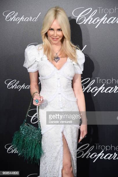 Amanda Cronin attends the Chopard Trophy during the 71st annual Cannes Film Festival at Martinez Hotel on May 14 2018 in Cannes France