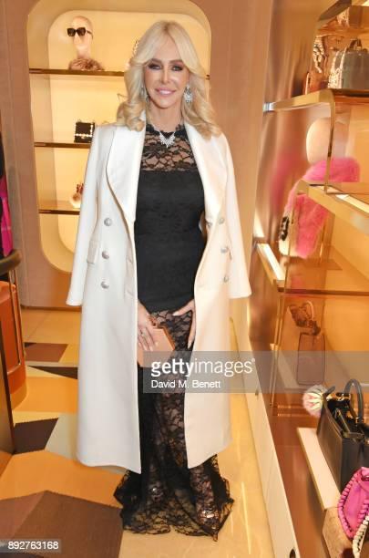Amanda Cronin attends the FENDI Sloane Street boutique opening on December 14 2017 in London England