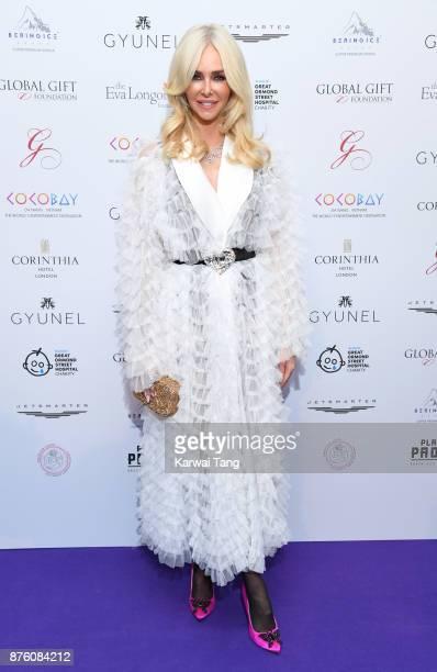 Amanda Cronin attends The Global Gift gala held at the Corinthia Hotel on November 18 2017 in London England