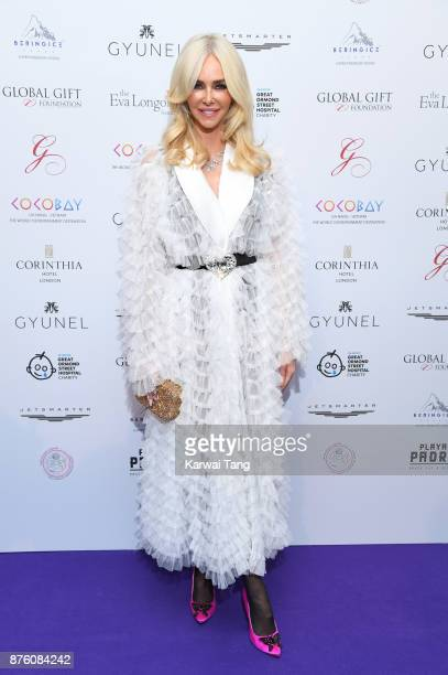 Amanda Cronin attends The Global Gift gala held at the Corinthia Hotel on November 18 2017 in London England