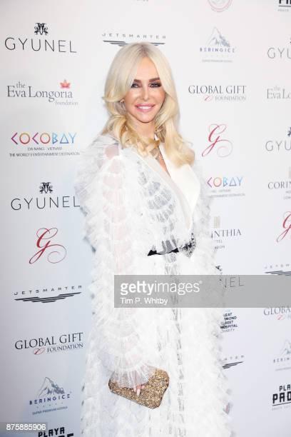 Amanda Cronin attends The Global Gift Gala London held at Corinthia Hotel London on November 18 2017 in London England