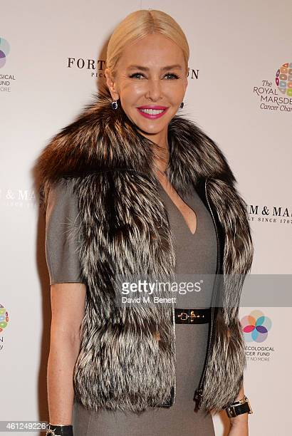 Amanda Cronin attends the Gynaecological Cancer Fund Ladies' Lunch in support of The Royal Marsden Cancer Charity at Fortnum Mason on November 18...