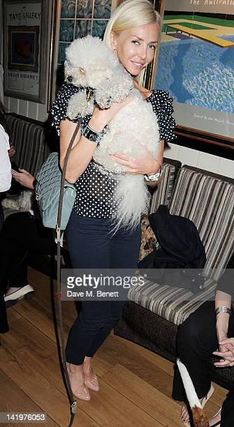 Amanda Cronin attends the launch of Dogs Trust Honors at George on March 27 2012 in London England