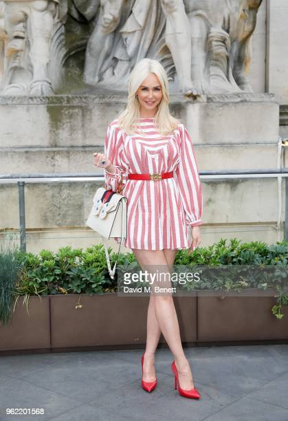 Amanda Cronin attends the launch of the Four Seasons Residences London at Ten Trinity Square on May 24 2018 in London England