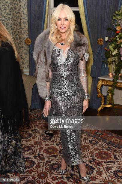 Amanda Cronin attends the launch of the Iris Alexander Fine Diamond Jewellery Collection hosted by Olivia Palermo at The Ritz on December 12 2017 in...