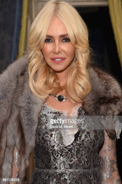 Amanda Cronin attends the launch of the Iris Alexander Fine Diamond Jewellery Collection hosted by Olivia Palermo at The Ritz on December 12, 2017 in...