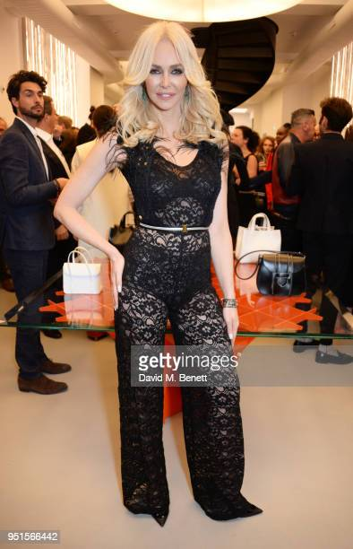 Amanda Cronin attends the opening of Maison Alaia on New Bond Street on April 26 2018 in London England