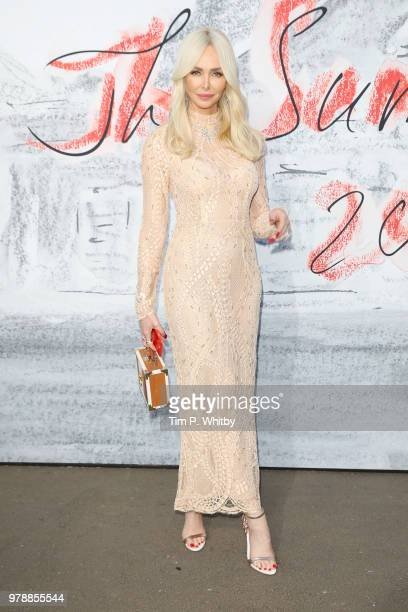 Amanda Cronin attends the Serpentine Summer Party 2018 at The Serpentine Gallery on June 19 2018 in London England