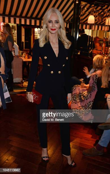 Amanda Cronin attends the VIP launch of Harry's Bar James Street on October 3 2018 in London England