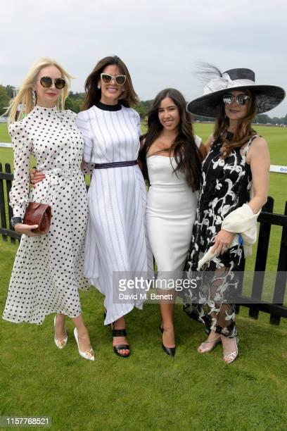 Amanda Cronin Christina Estrada Christina Estrada Juffal with friend attend the OUTSOURCING Inc Royal Windsor Cup Final on June 23 2019 in Windsor...