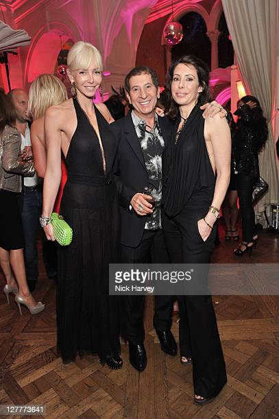 Amanda Cronin, Jimmy Lahoud and Lauren Prakke attend the 4th anniversary of Tate Young Patrons sponsored by Vanessa Bruno on June 8, 2011 in London,...