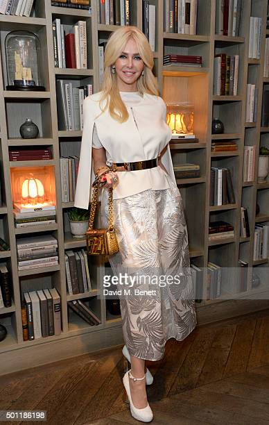 Amanda Croninattends the Saqqara Jewels lunch for Children In Crisis at the Belgraves Hotel on December 7 2015 in London England