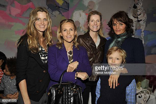 Amanda Cutter Brooks Tory Burch Lucy Sykes Rellie Helena Christensen and Mingus Reedus attend An Afternoon to Celebrate The new Ralph Lauren...