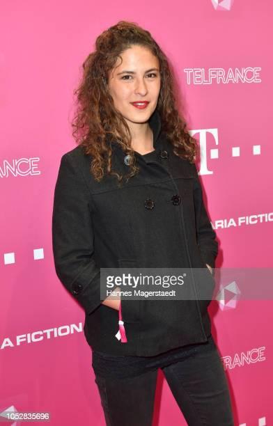 Amanda da Gloria attends the DeutschLesLandes premiere at Haus der Kunst on October 23 2018 in Munich Germany