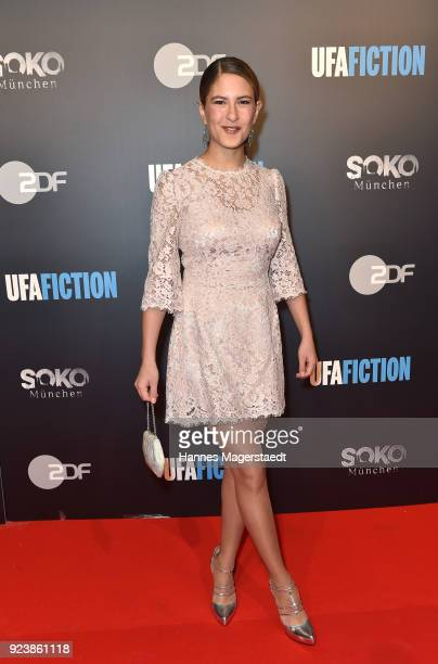 Amanda da Gloria during the 40th anniversary celebration of the ZDF TV series SOKO Munich at Seehaus on February 24 2018 in Munich Germany