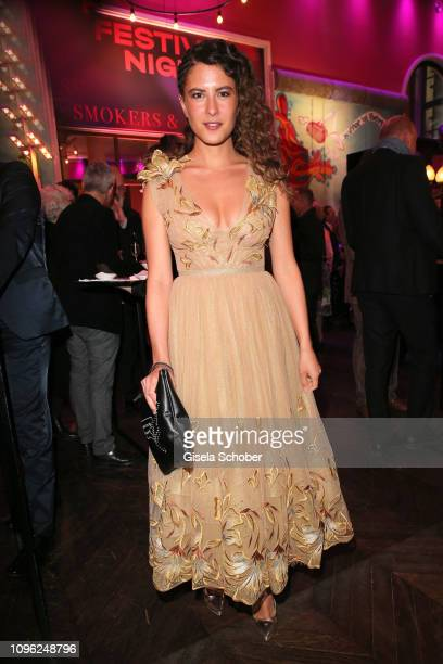 Amanda da Gloria during the BUNTE BMW Festival Night at Restaurant Gendarmerie during the 69th Berlinale Filmfestival on February 8 2019 in Berlin...