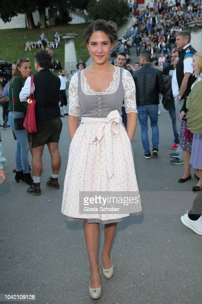 Amanda da Gloria during the Madlwiesn as part of the Oktoberfest 2018 at Schuetzenfesthalle tent at Theresienwiese on September 27 2018 in Munich...