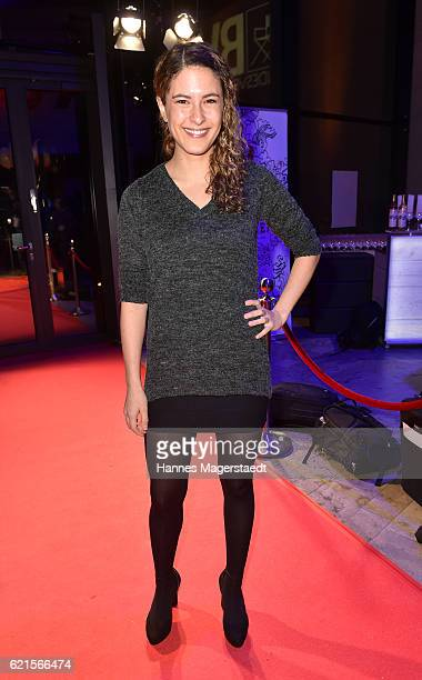 Amanda da Gloria during the MetropolisDeutscher Regiepreis 2016 at HFF Munich on November 6 2016 in Munich Germany