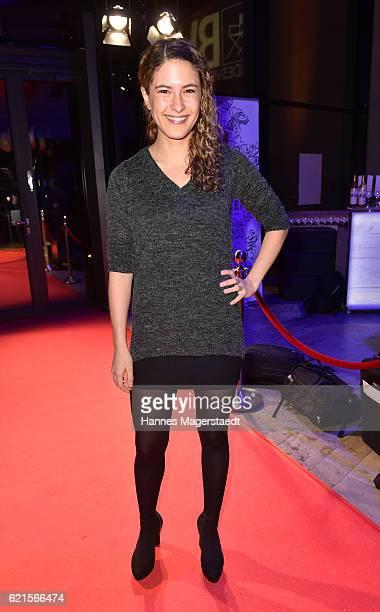 Amanda da Gloria during the MetropolisDeutscher Regiepreis 2016 at HFF Munich on November 6 2016 in Munich Germany