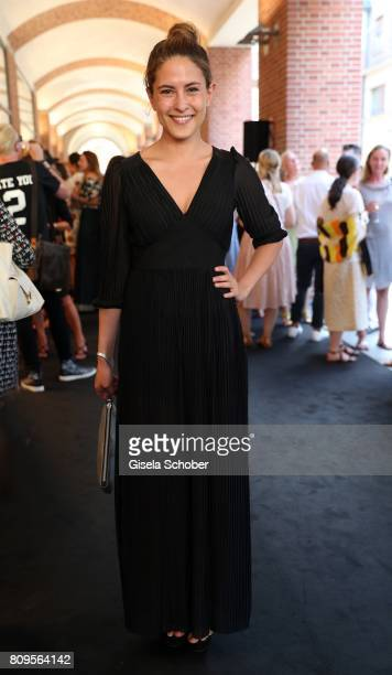 Amanda da Gloria during the mytheresa summer cocktail and collection launch to celebrate 30 years of business with Prada on July 5 2017 in Munich...