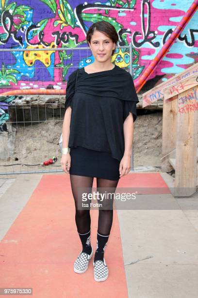 Amanda da Gloria during the nominees announcement of the German Play Award 2018 at Kornversuchsspeicher on June 15 2018 in Berlin Germany On the...