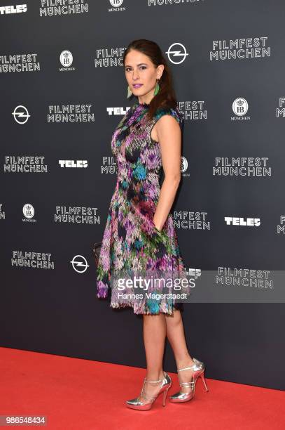 Amanda da Gloria during the opening night of the Munich Film Festival 2018 at Mathaeser Filmpalast on June 28 2018 in Munich Germany
