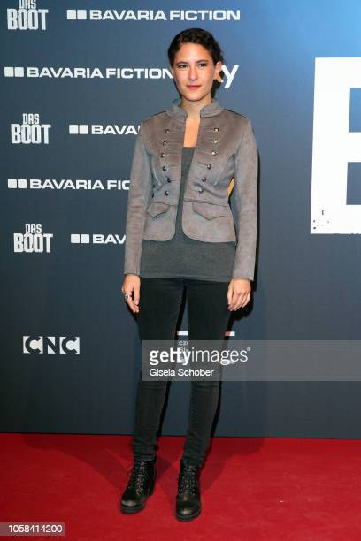 Amanda da Gloria during the world premiere of the Sky original series 'Das Boot' at Bavaria Studios on November 6 2018 in Munich Germany